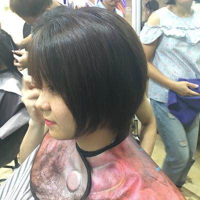 Team mặt tròn đổ xô đến Korigami cắt tóc ngắn Tomboy nè