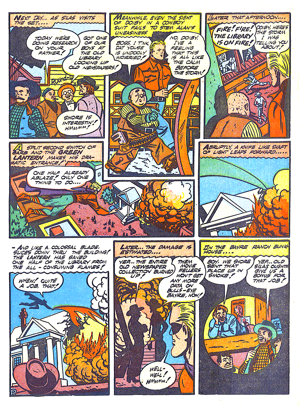 Read online All-American Comics (1939) comic -  Issue #50 - 11