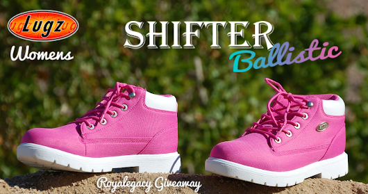 Royalegacy Reviews and More: #Giveaway - New Lugz Shifter Ballistic Durable Boot for Women - ends 7/3/15 US