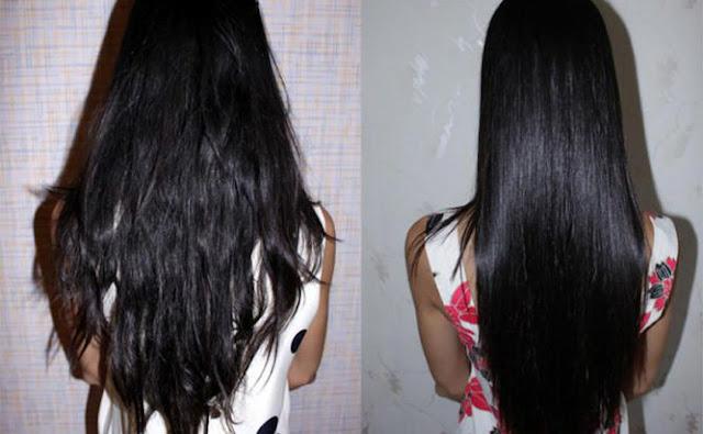 وصفات لتنعيم وتطويل الشعر الجاف