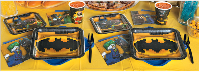 Lego Batman Birthday Party Ideas, Easy Lego Batman party ideas, Lego Batman target cake, Lego cake from Target, Lego batman invitations, Easy decorations for a Lego batman party,