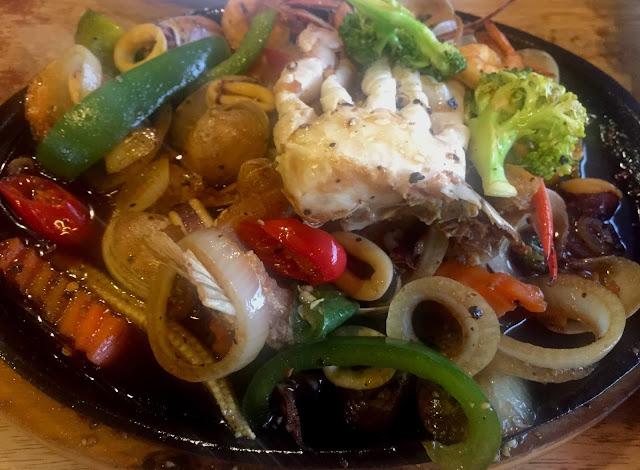 Restoran Sala Thai @ Kajang, Restoran Sala Thai kajang, sala thai kajang, sala thai, restoran sala thai, tofu, tofu sos tiram, tofu masak sos tiram, seafood, seafood kuali panas