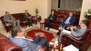 العثماني يجتمع بالاغلبية الحكومية غدا لمناقشة ملف الاساتذة المتعاقدين