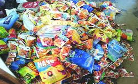 News, Kerala, Kasargod, Man, Arrest, Panmasala, Police, Raid, Man arrested with 60 packet Panmasala.