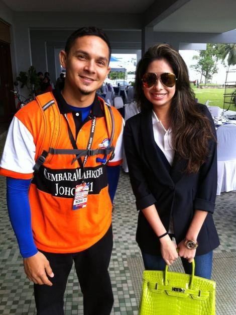 Tunku Aminah - Peminat Fesyen Terkini