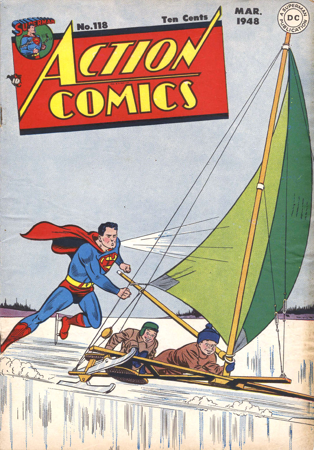 Read online Action Comics (1938) comic -  Issue #118 - 1