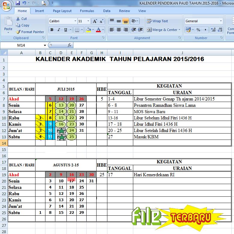 "... Results for ""Kalender Pendidikan Smp 20152016"" – Calendar 2015"