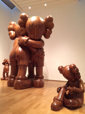 kaws companion wood pieces