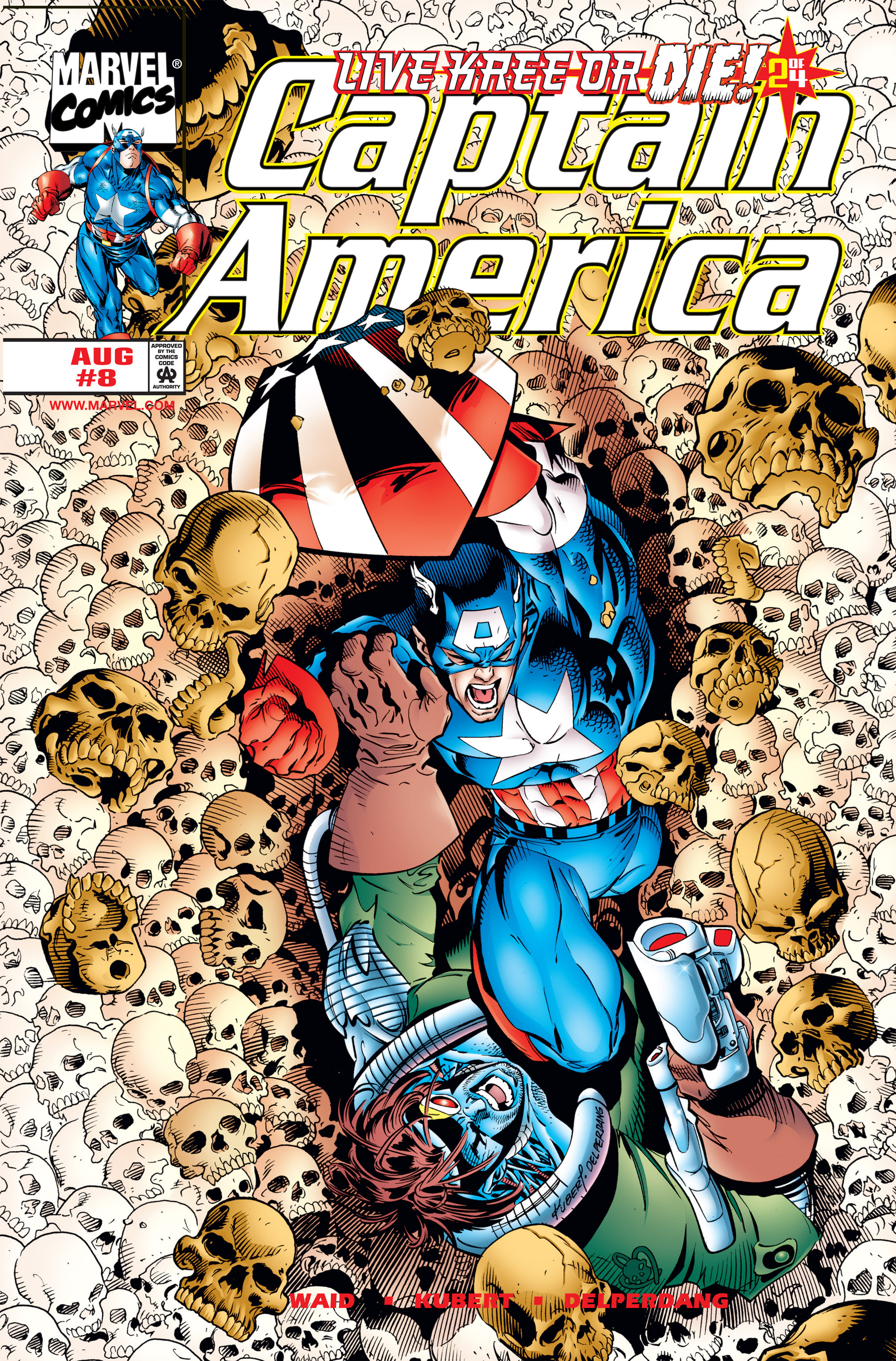 Captain America (1998) 8 Page 1