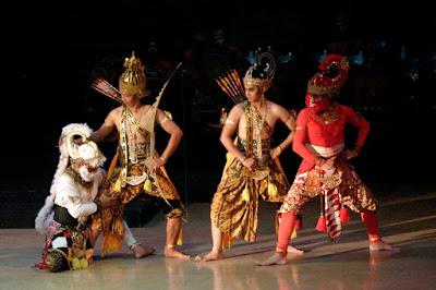 Ramayana show indoor