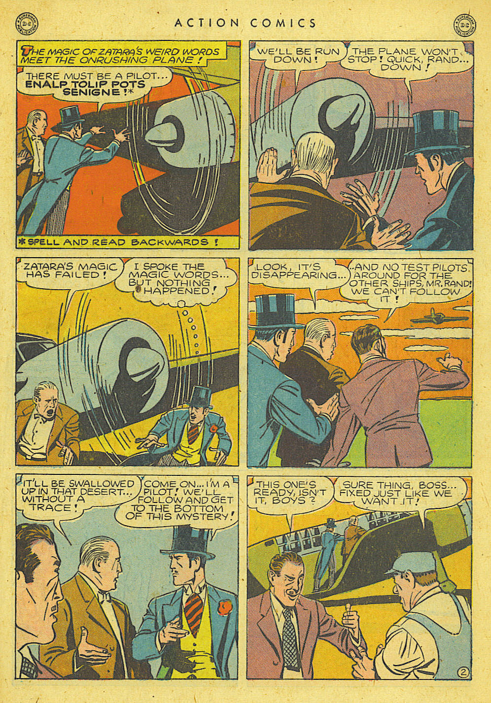 Read online Action Comics (1938) comic -  Issue #78 - 37