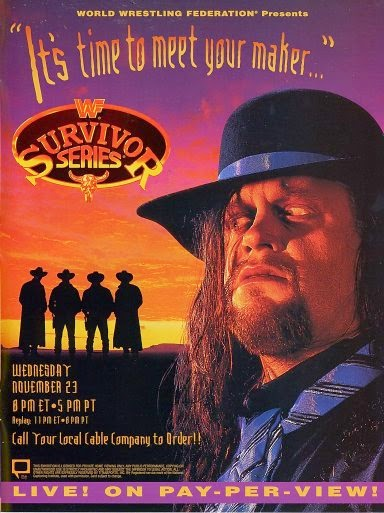 WWF / WWE - Survivor Series 1994: Event poster