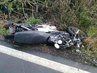 Acidente de moto entre Picuí e Frei Martinho neste sábado (10)