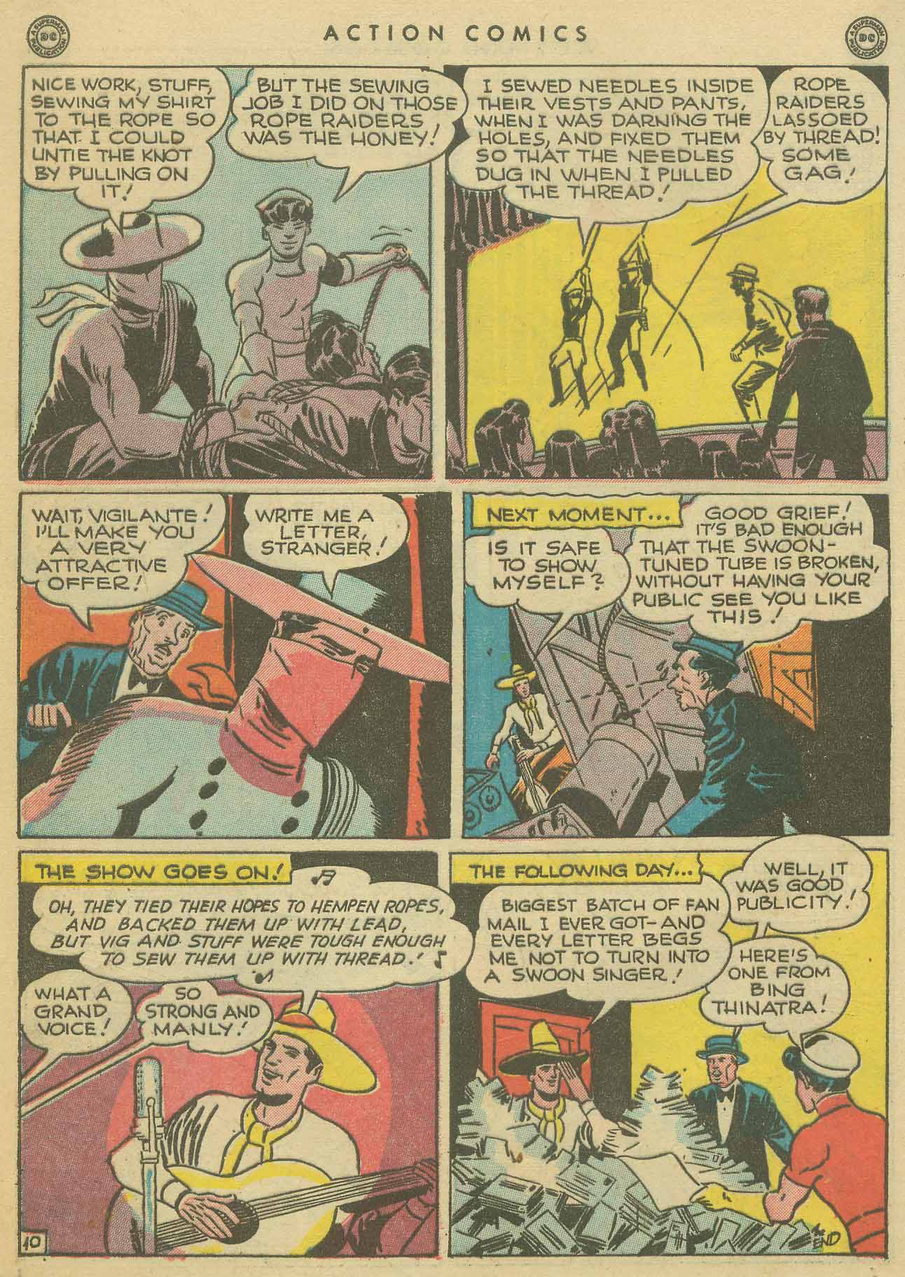 Read online Action Comics (1938) comic -  Issue #102 - 39