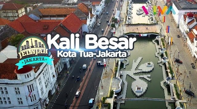 Goodbener! Kali Besar Kota Tua Jakarta, Dulu Kumuh Kini Mirip di Eropa