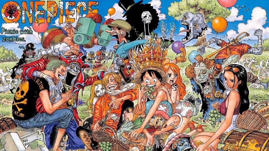 Straw Hat Pirates, Zombies, Pirates, One Piece, 4K, #6.178