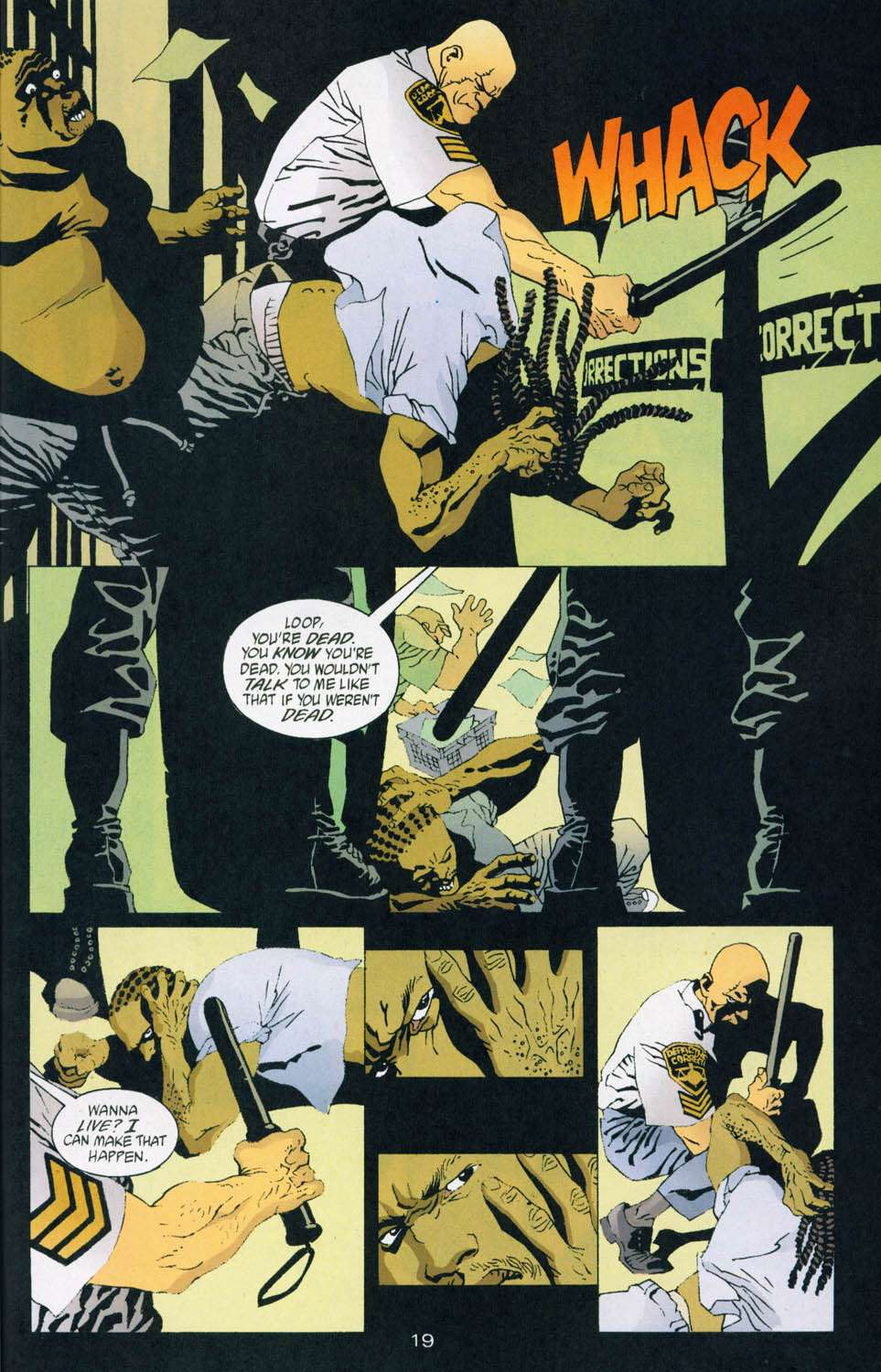 Read online 100 Bullets comic -  Issue #44 - 20