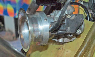 Cara Modifikasi Throttle Body Suzuki All New Satria F-150 Injeksi