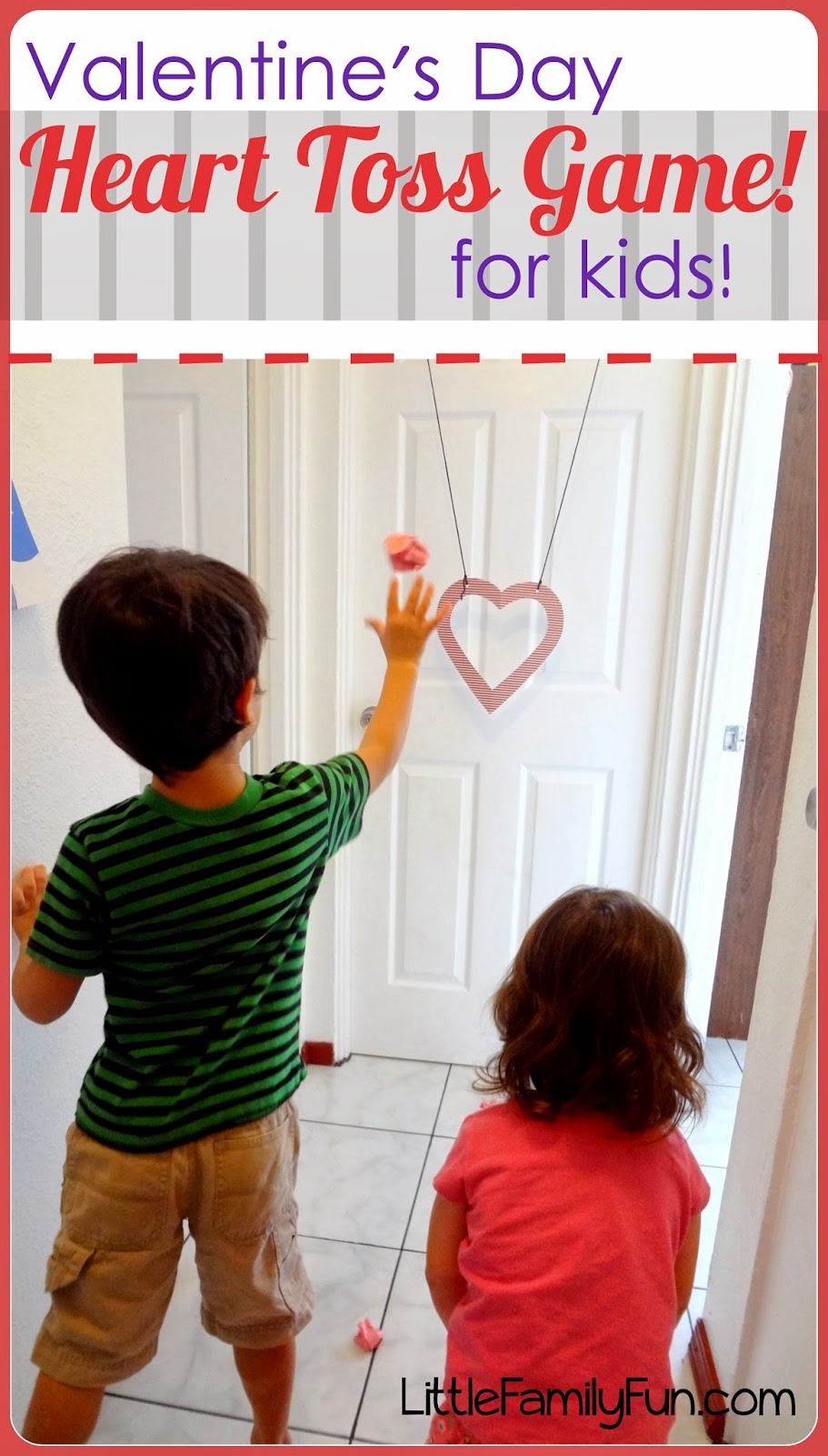 Little Family Fun Valentines Day Heart Toss Game-5673