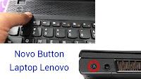 Tombol Bios Tersembunyi di Lenovo V110-14IAP