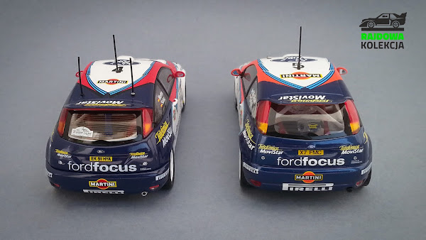 AUTOart vs Minichamps Ford Focus RS WRC 02