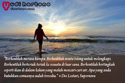 Quote Dee Lestari Tentang Cinta dan Kehidupan