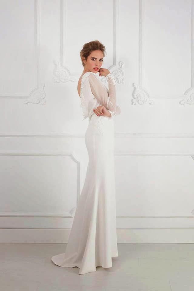 Vestidos de novia de fernando claro