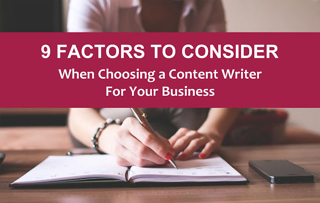8 Things to Consider When Hiring a Copywriting Services Provider