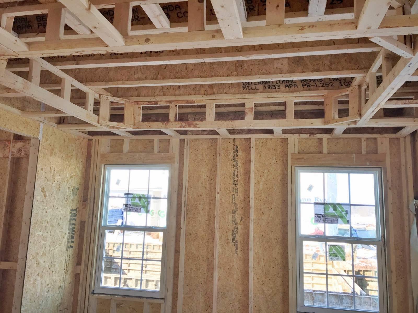 Tray Ceiling Build