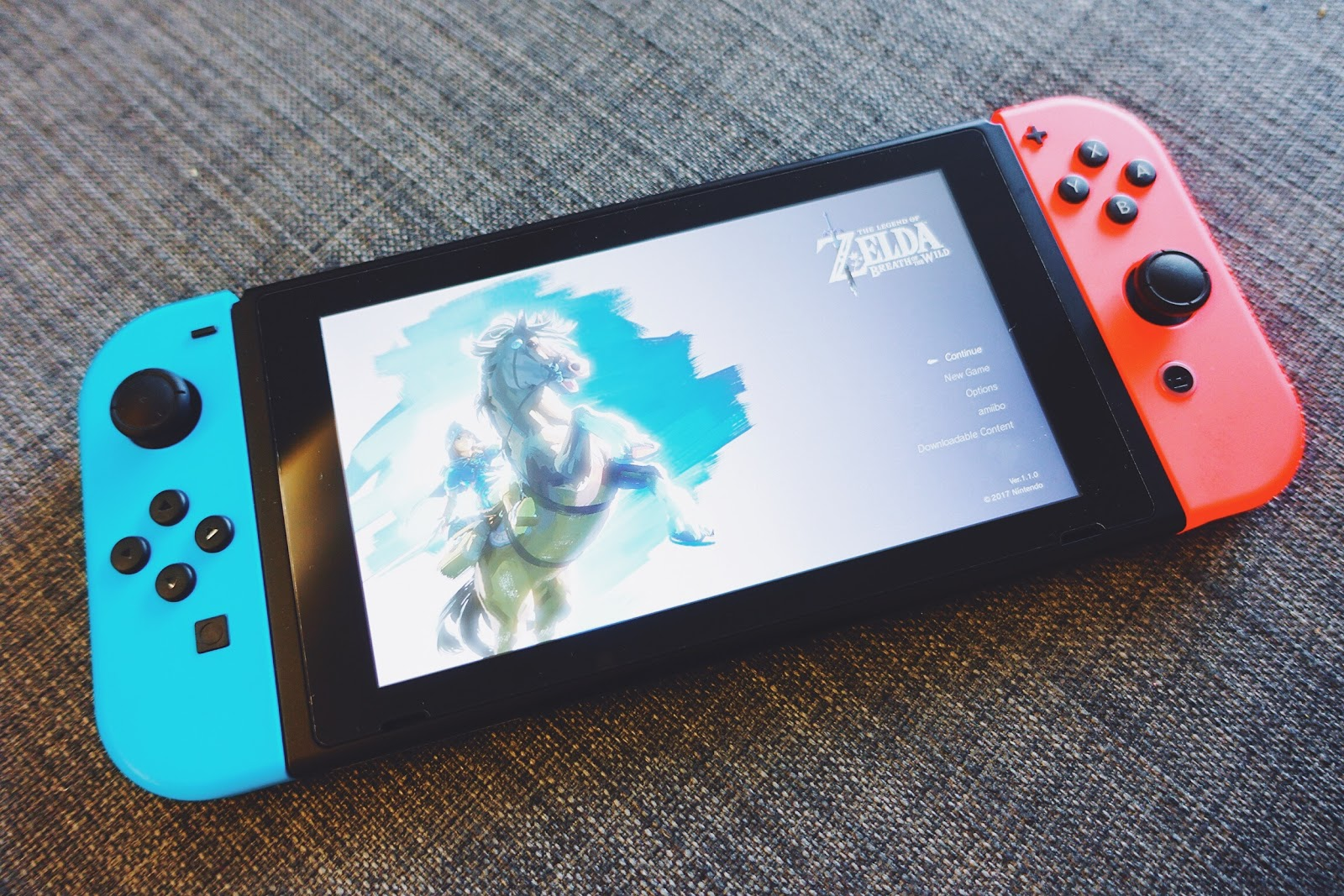 Nintendo Switch Baoers Red Blue Bundle 2games 2amiibo The Best Part About Is Obviously Zelda Breath Of Wild I Played With It Almost Every Night When Im Back From Work