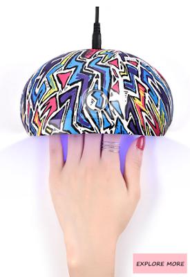 motehr's day, at-home, manicure, home, gift, idea, mom, best, nail lamp, gel polish, nail, nail art