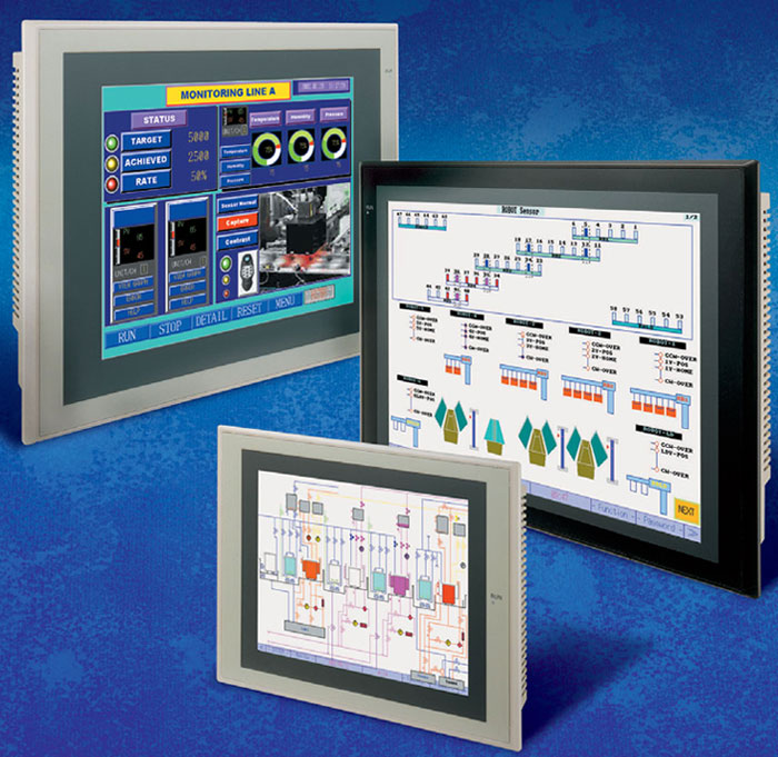 Omron HMI Touch Screen NS