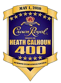 Crown Royal Presents the Heath Calhoun 400  #NASCAR