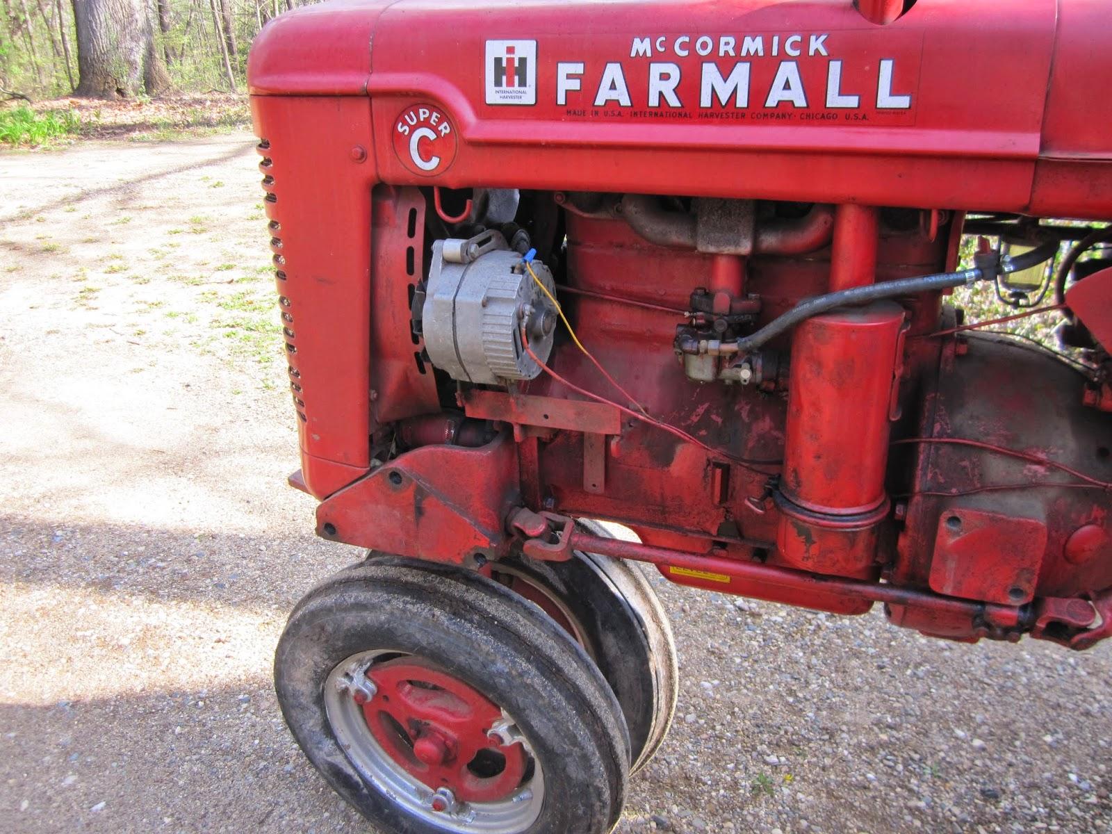 1953 farmall super c serial 184357 farmall super c and fast hitch implements. Black Bedroom Furniture Sets. Home Design Ideas