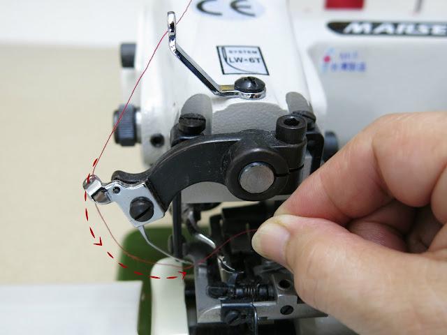tutorial enhebrado máquina de coser