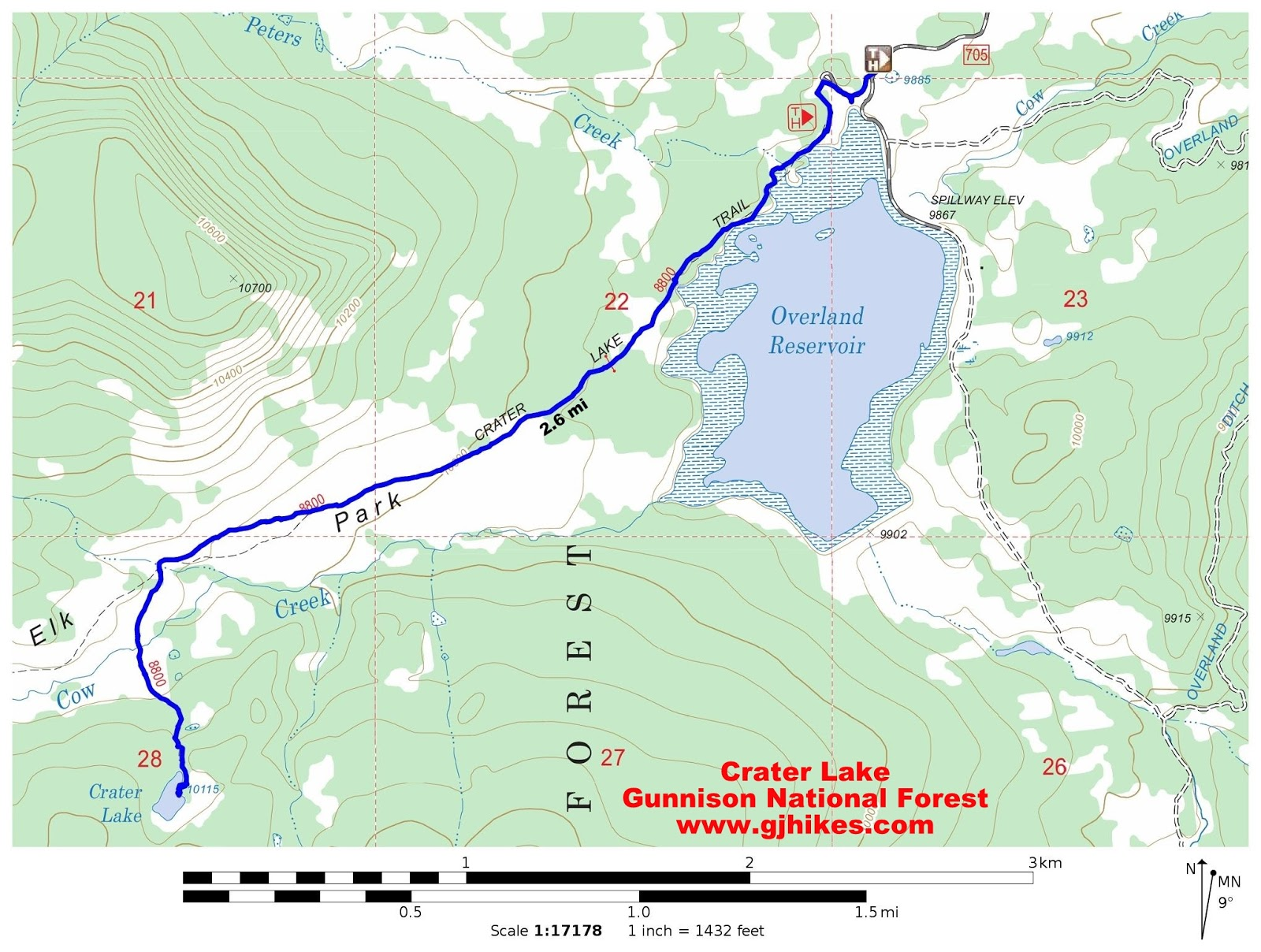 gjhikescom Crater Lake