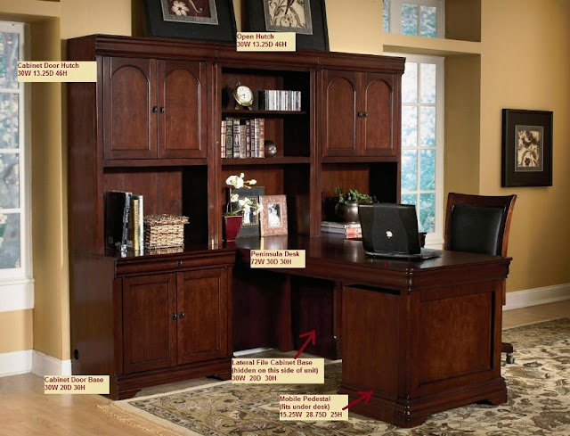 best buying home office furniture complete set wood for sale
