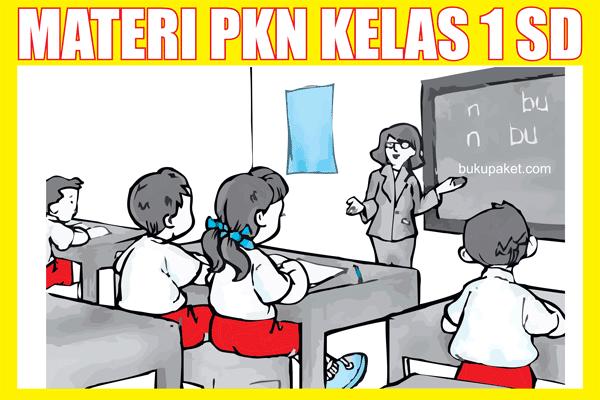 Materi PKn Kelas 1 SD/MI Semester 1/2 Lengkap KTSP