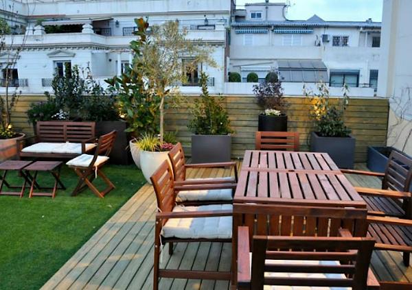 Como decorar tu terraza o jard n ideal decoraci n for Como cuidar el pasto de mi jardin