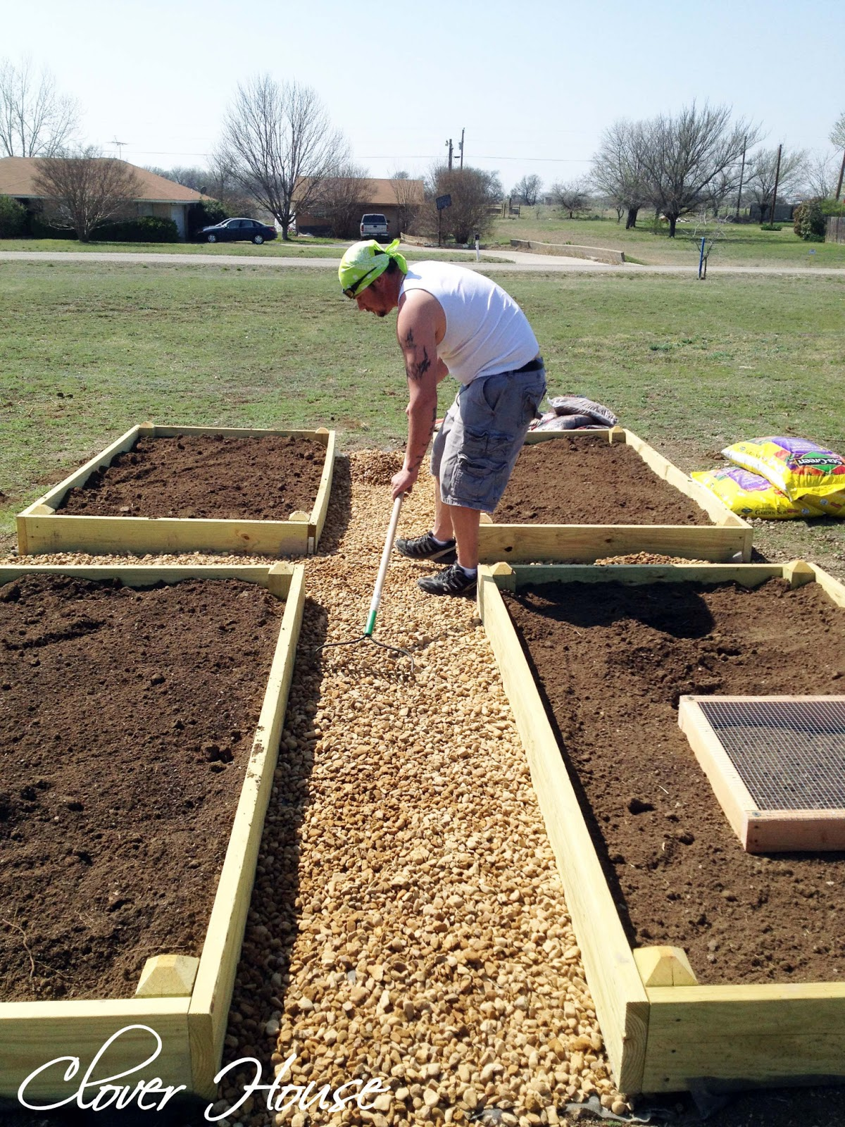 DIY Raised Bed Vegetable Garden
