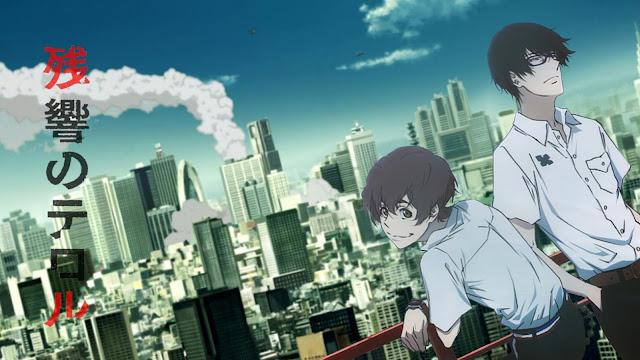 Zankyou No Terror di Rekomendasi anime Antagonisnya Menang