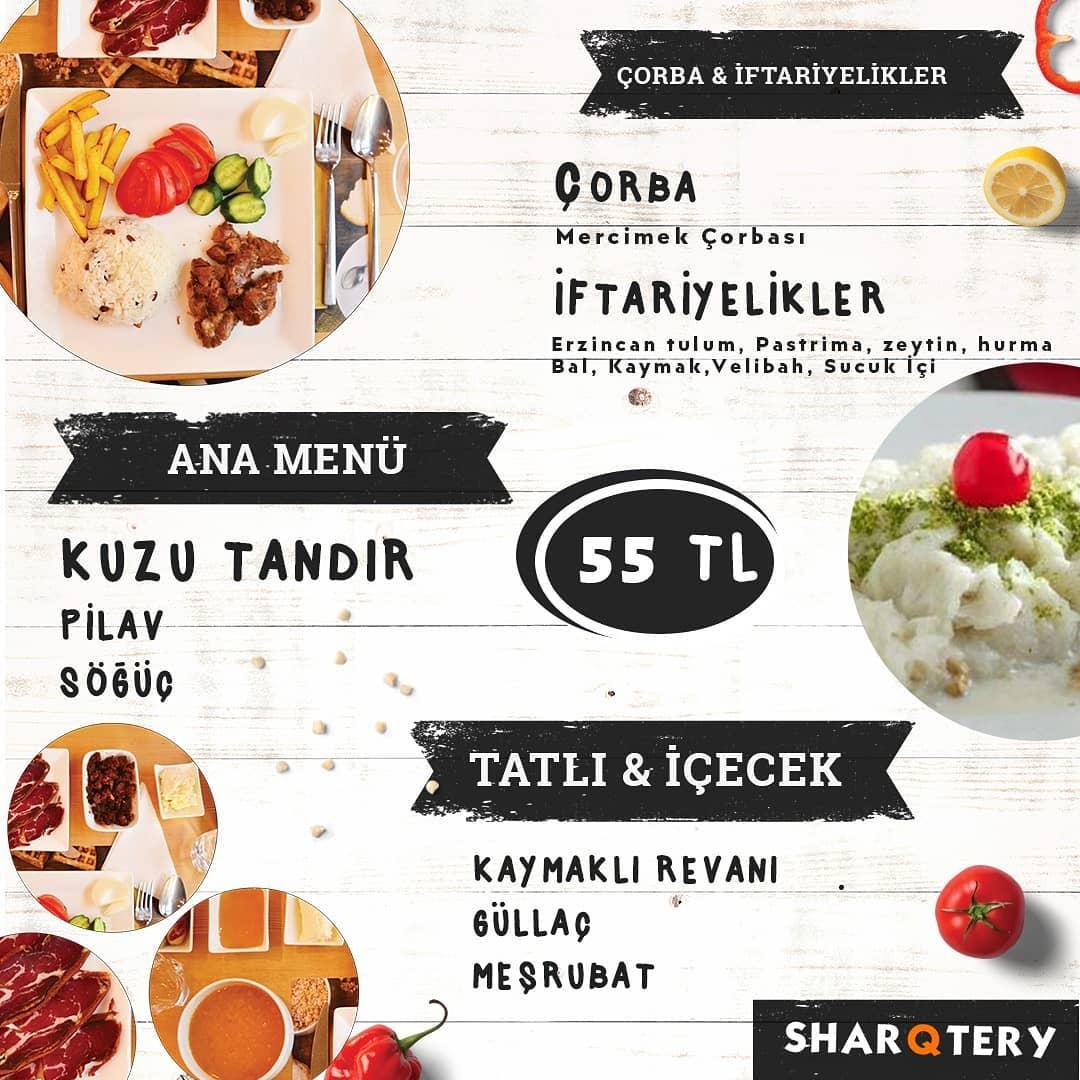 sharqtery kayseri talas iftar menüleri kayseri talas iftar menüsü fiyatları talas iftar mekanları