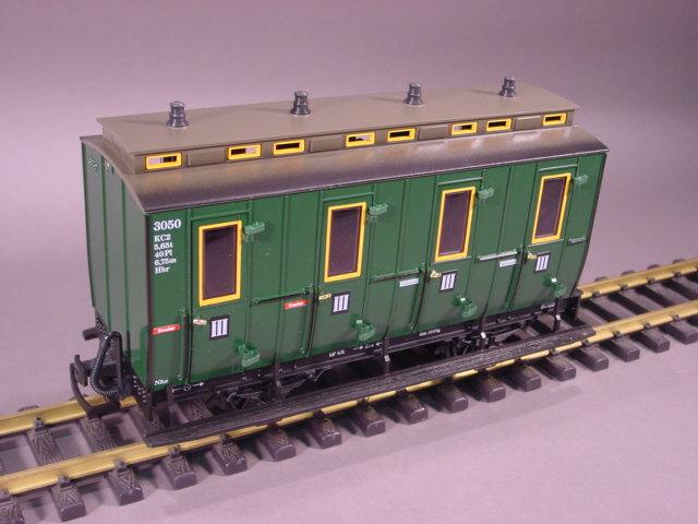 LGB Trains & G Scale: LGB Trains 3050 Dark Green Coach