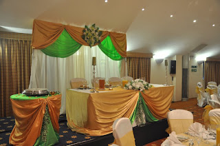 Doris Decoration And Cakes Lime Green And Gold