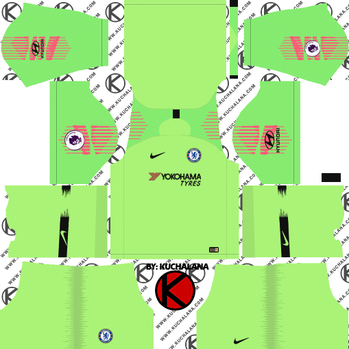 9c355b595 Chelsea FC 2018 19 Kit - Dream League Soccer Kits - Kuchalana