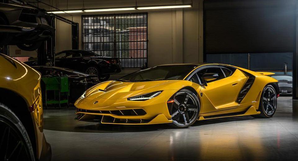 Lamborghinis Don T Get More Outrageous Than A Yellow Centenario