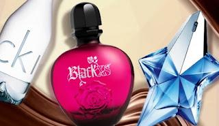 Perfumes com chocolate