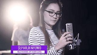 Lirik Lagu Separo Nyowo (Dan Artinya) - Nella Kharisma