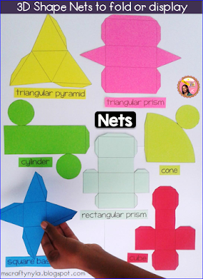 3D Shape Posters for nets