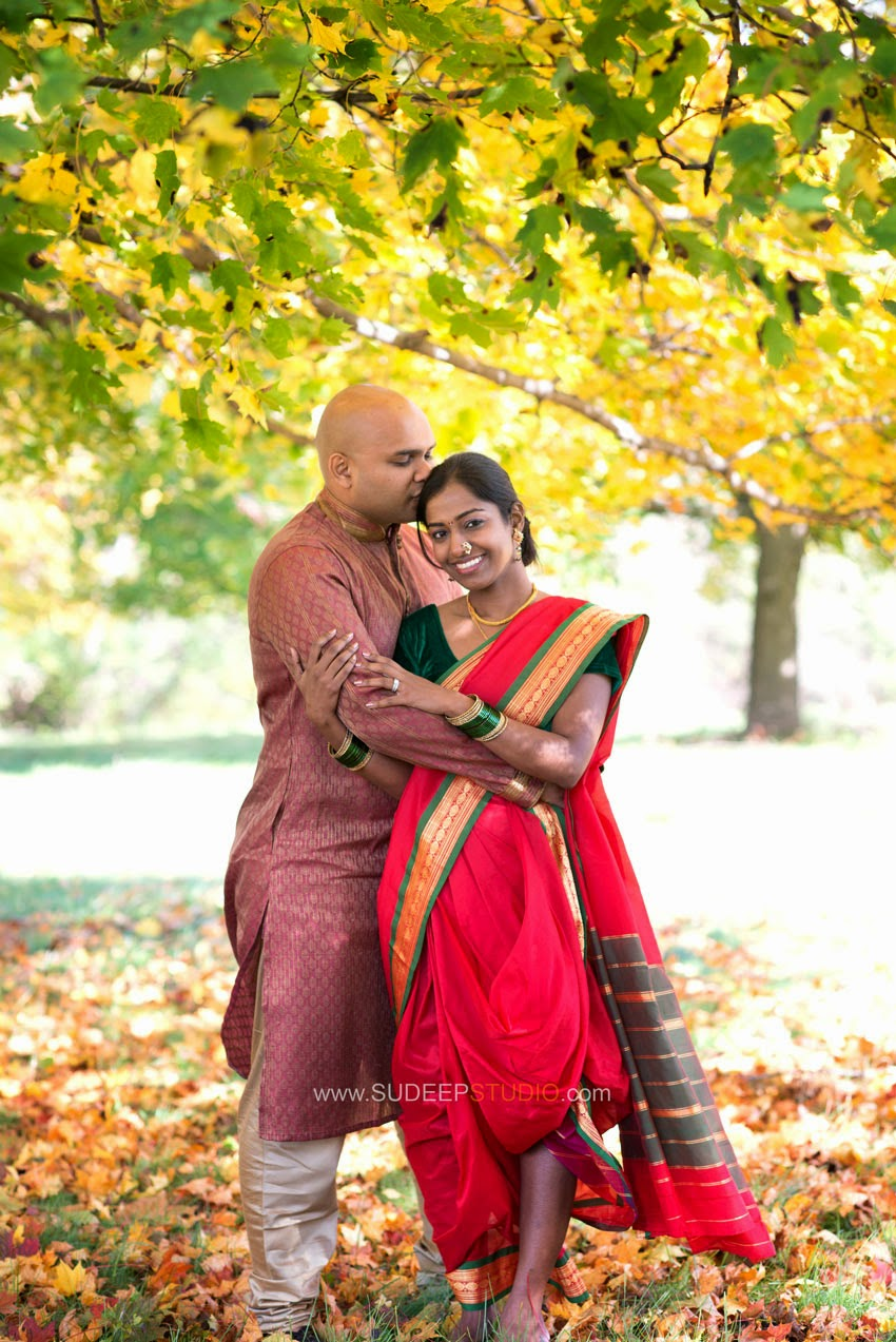 Ann Arbor Indian Wedding Engagement Session - Sudeep Studio.com